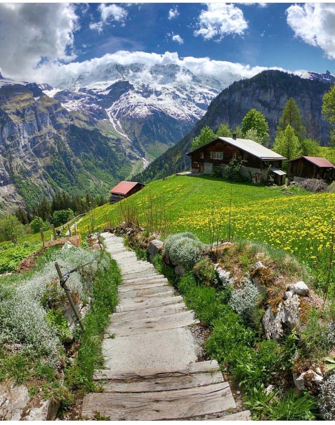 Switzerland Beautiful Landscapes Beautiful Places Scenery