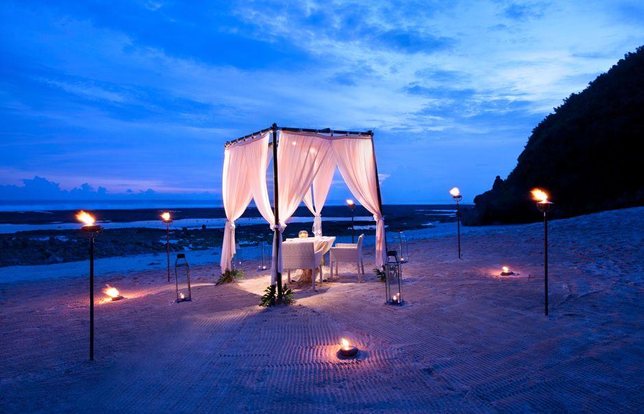 Destination dining. banyan tree ungasan. © banyan tree hotels
