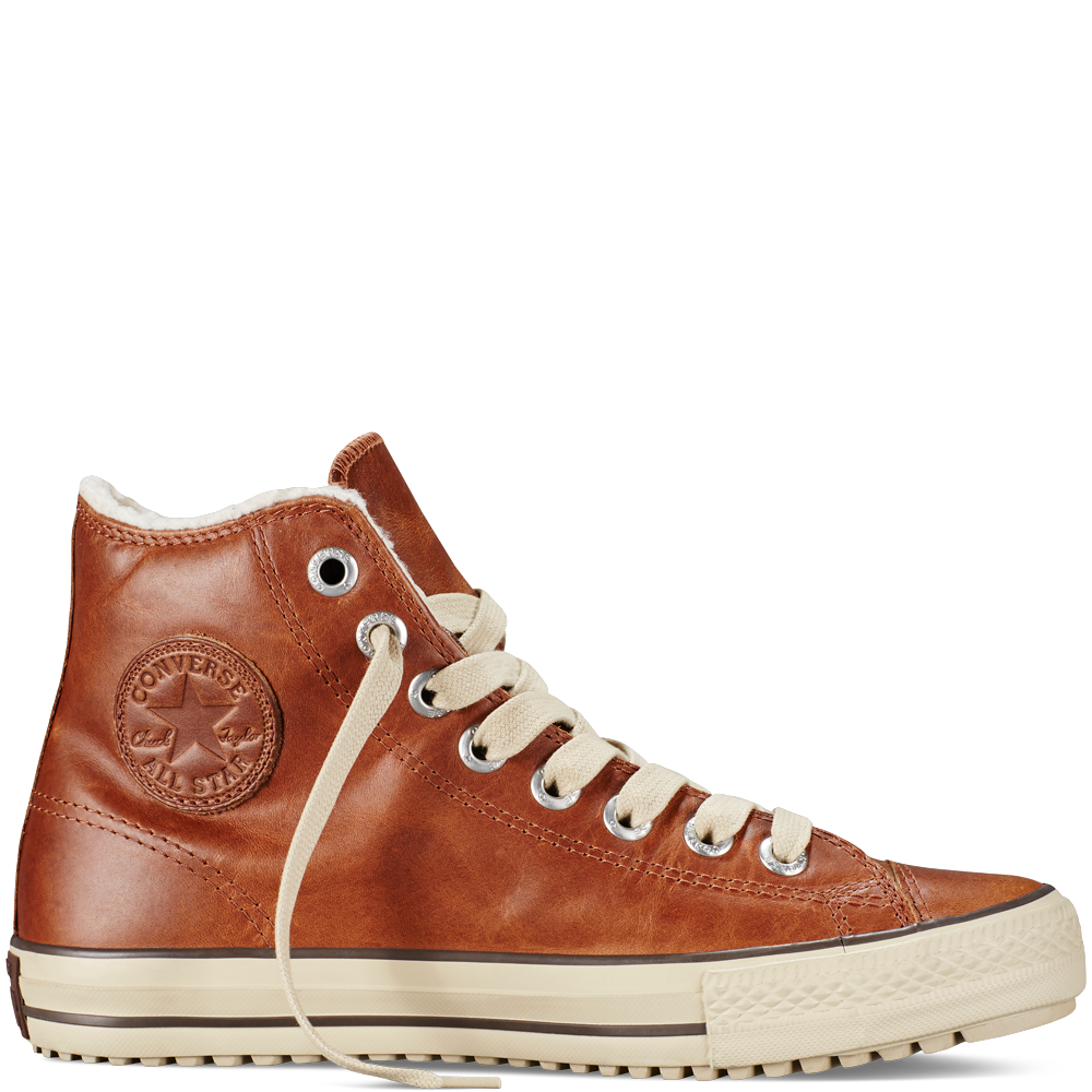 converse leather boot