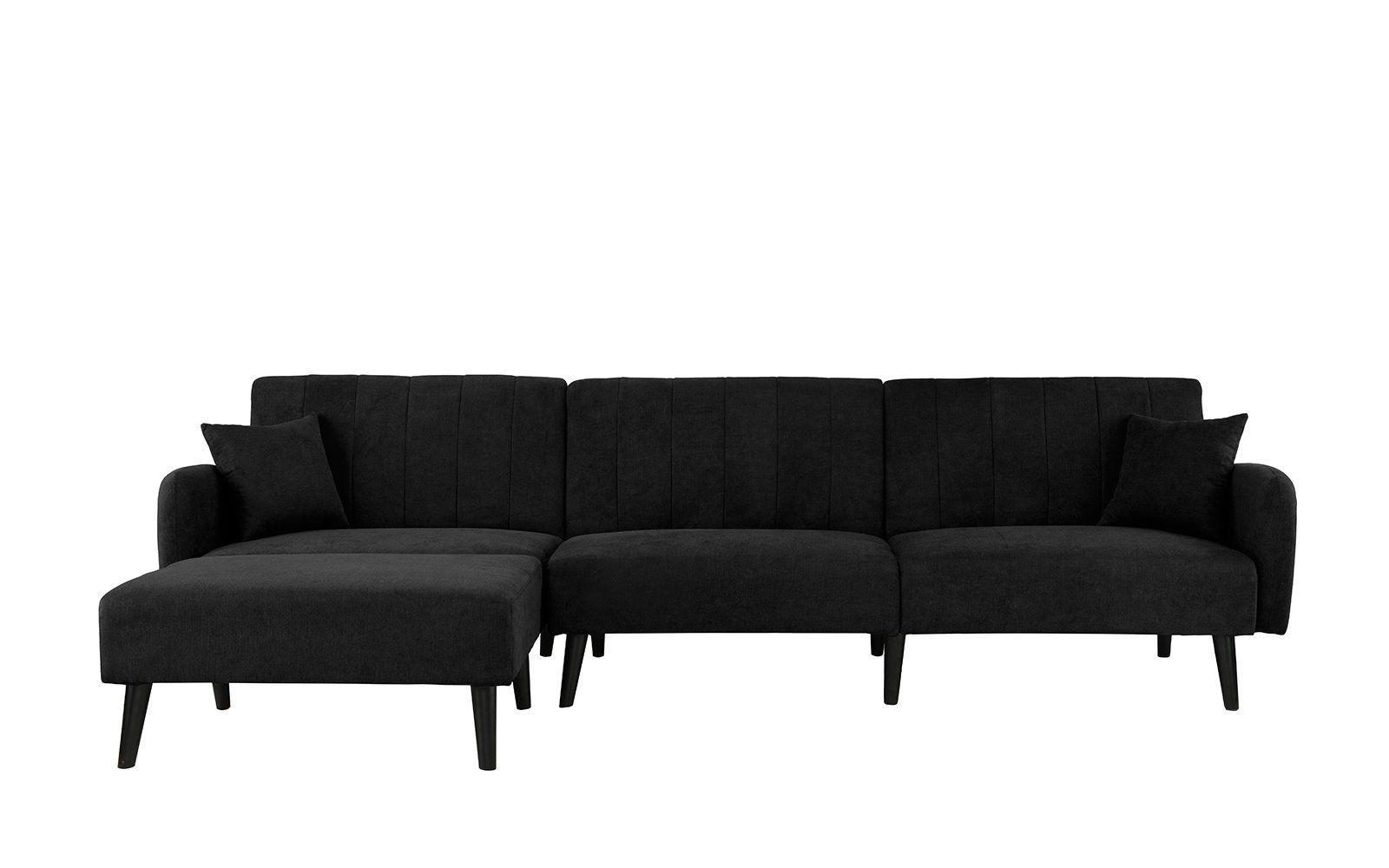 Almonte Modern Futon Sectional Sofa