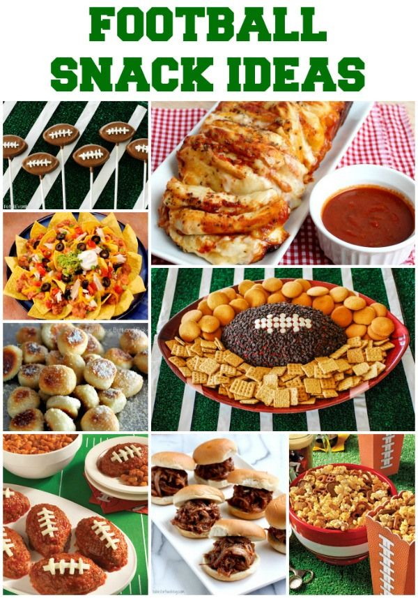 Game Day Football Party Snacks Ideas Party snack food
