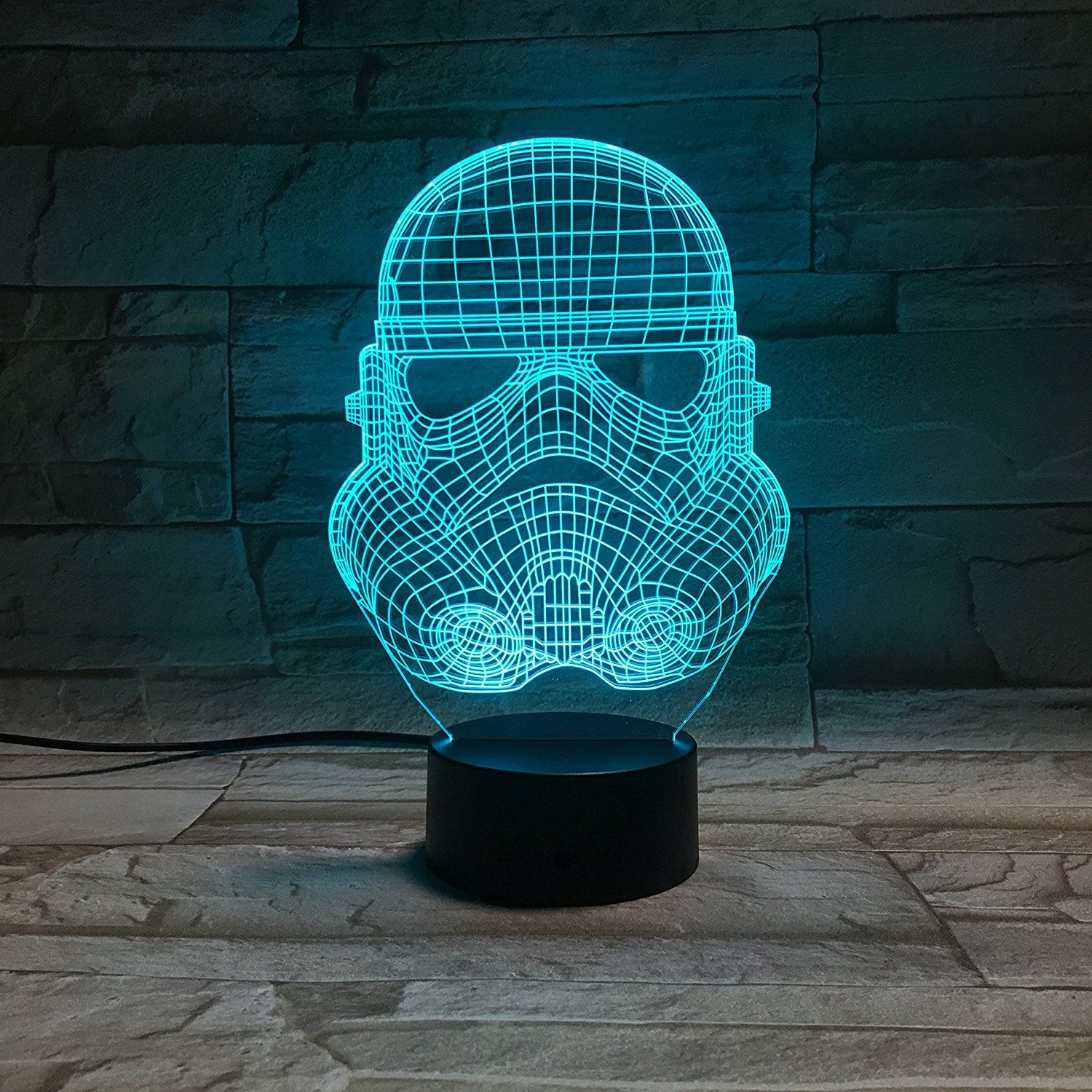 Le3d 3d Optical Illusion Desk Lamp 3d Optical Illusion Night Light 7 Color Led 3d Lamp Star Wars 3d Le 3d Led Night Light Color Changing Lamp Led Night Light