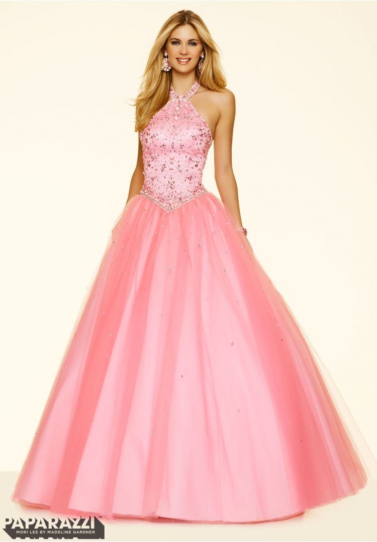 Prom dresses by Paparazzi Prom Sugar Coated Stones on a Tulle Ball ...