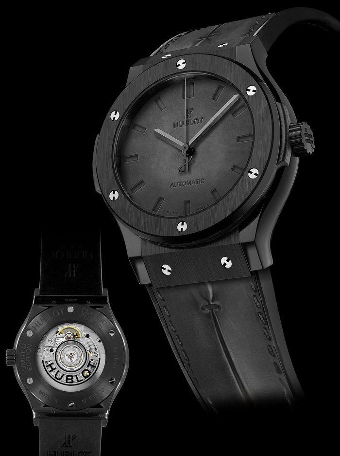 Hublot Classic Fusion Berluti - Эксклюзивные часы Hublot с циферблатом из  кожи  895bbc4a20cf7