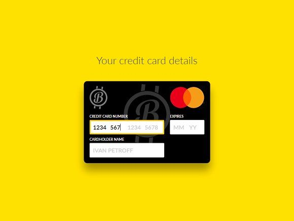 Interactive Credit Card Html Css Credit Card Website Website Template Design Card Layout