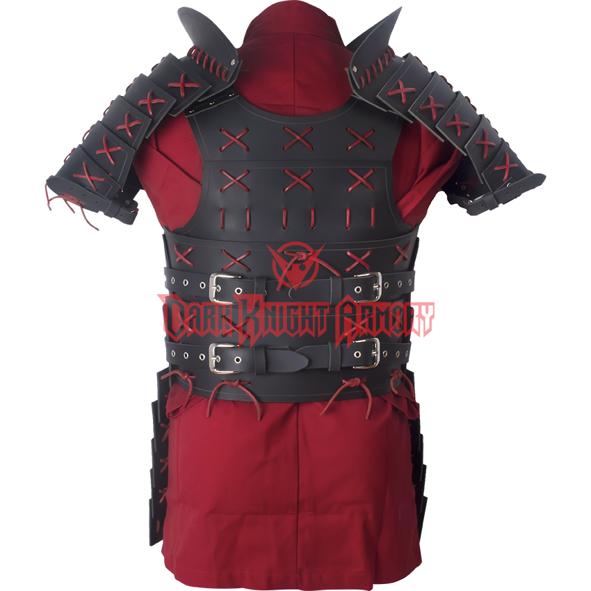 Leather Samurai Armour Rt 227 From Dark Knight Armoury Samurai Armor Armor Leather Armor