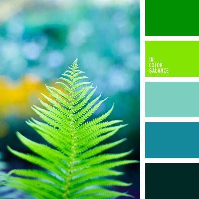 celeste y verde lechuga, color aguamarina, color chartreuse, color