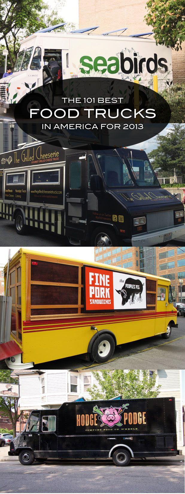 101 best food trucks in america for 2013 food trucks. Black Bedroom Furniture Sets. Home Design Ideas