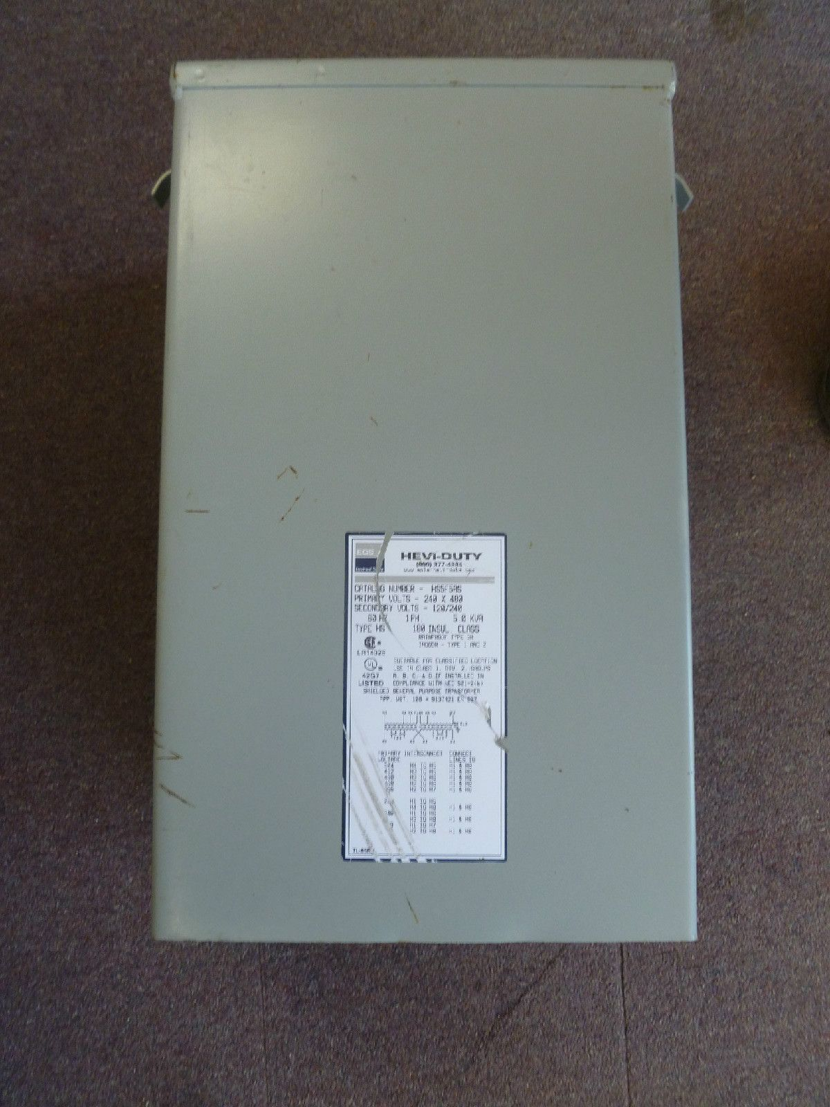 You are buying one Sola HeviDuty Transformer model number