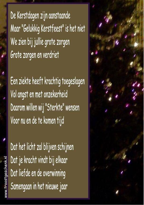 Citaten Zorgen Voor : Mooi gedicht voor in een kersttijd met zorgen en verdriet