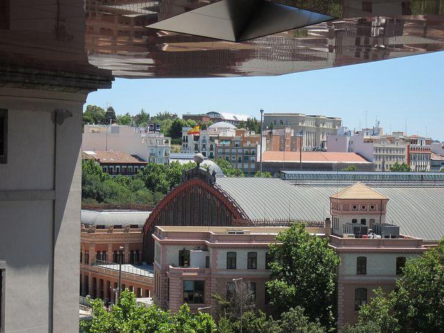 Museo Reina Sofía Terraza Edificio Nouvel Madrid By Voces