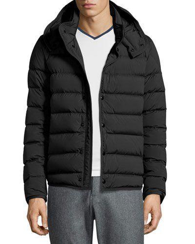 mens black moncler puffer jacket