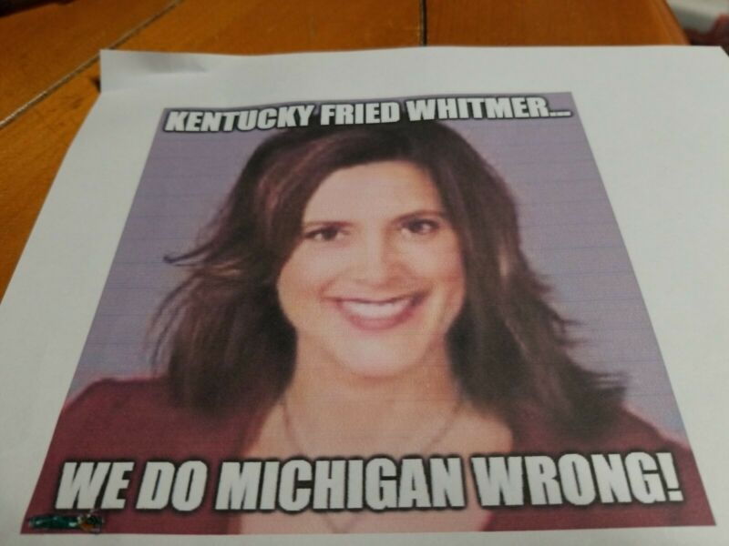 Gretchen Whitmer Governor Of Michigan Meme Posters Prints Ebay Link In 2020 Memes Poster Prints Michigan