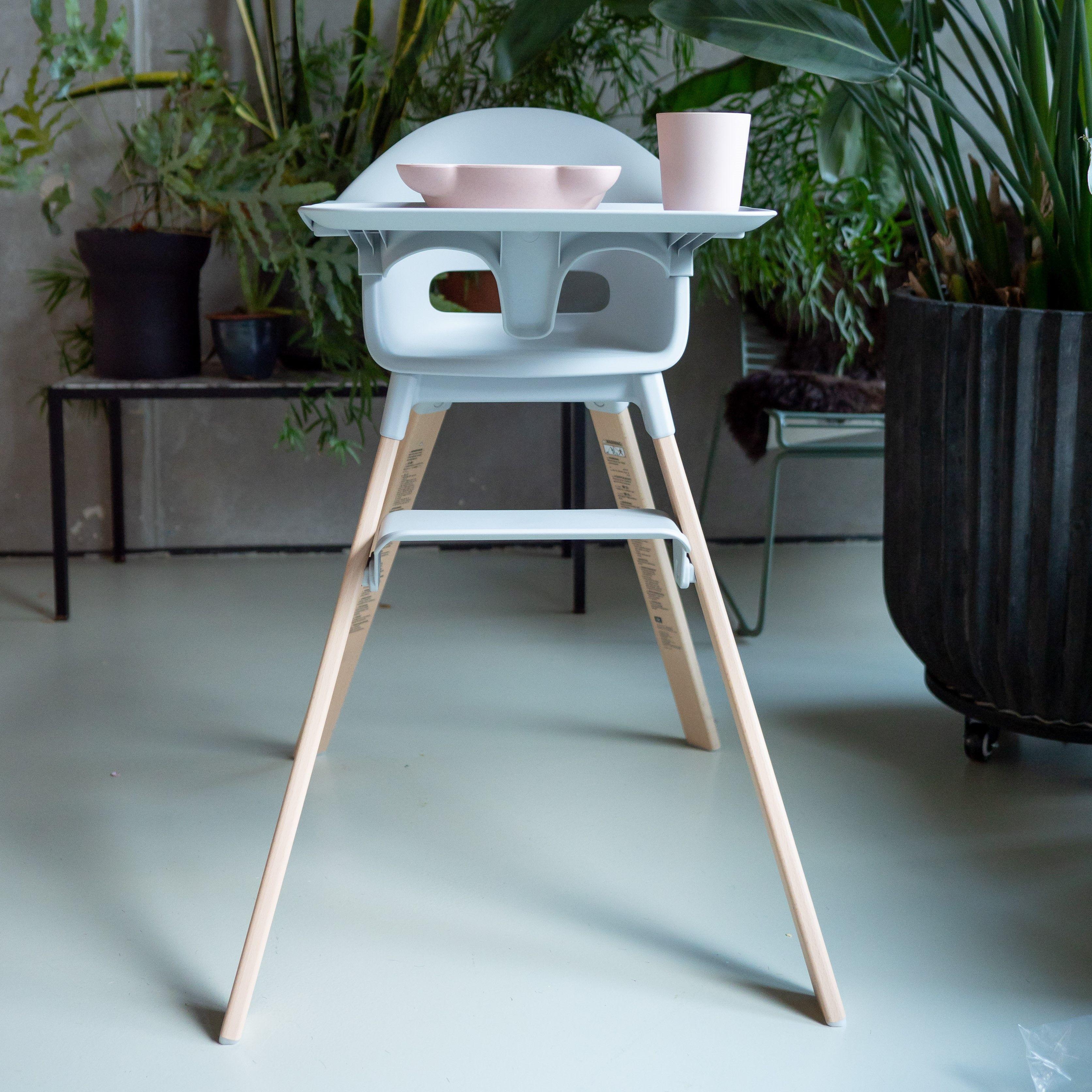 Stokke Clikk High Chair Soft Pink In 2020 Chair High Chair European Beech Wood