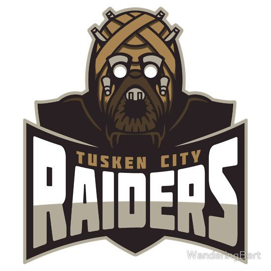 Tusken city raiders sticker by wanderingbert