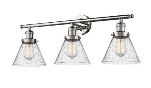 Innovations Lighting 205-PN-G44-LED Large Cone LED 32 inch Polished