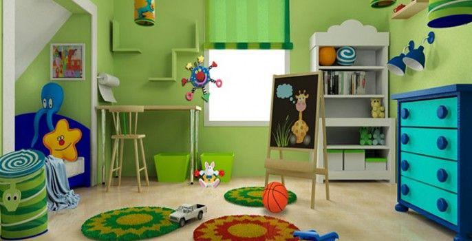 Interiores de recamaras infantiles for Recamaras infantiles para ninos