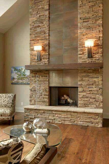 Pin de PATRICIA FAGUA en sala - comedor Pinterest Sala comedor - diseo de chimeneas para casas