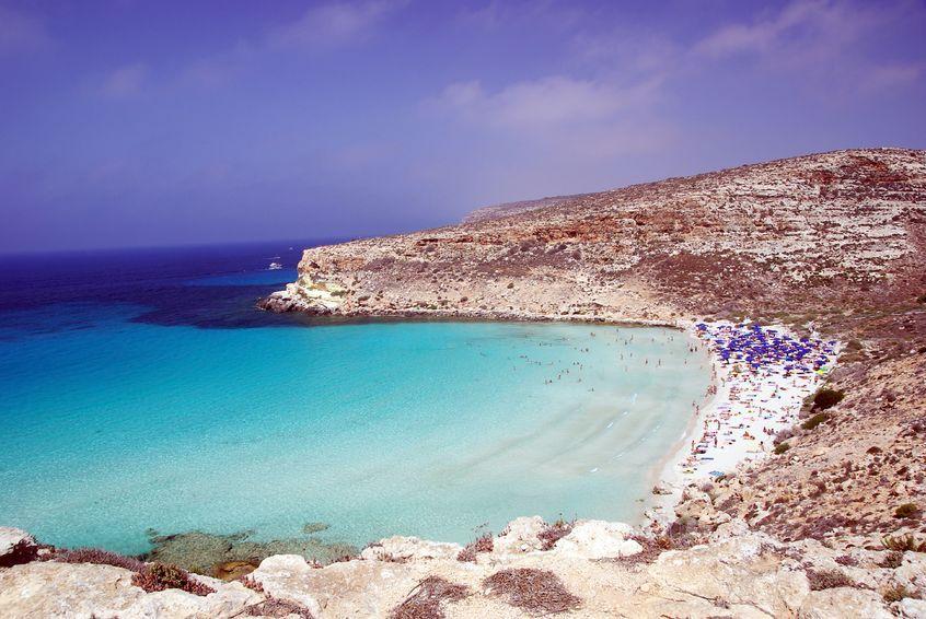 Lampedusa Kaninchenstrand http://www.urlaubsrabauken.de/reisetipps/top-10-straende-europas/