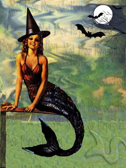 Juxtapoz Magazine - Vintage Mermaid Art