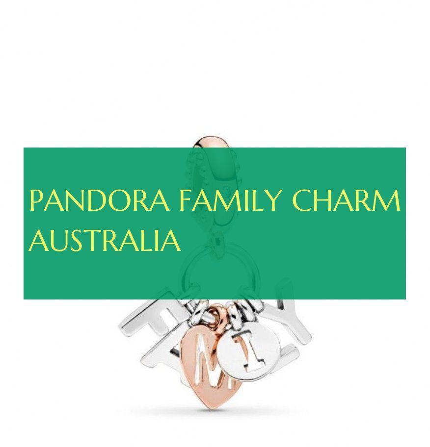 pandora family charm australia
