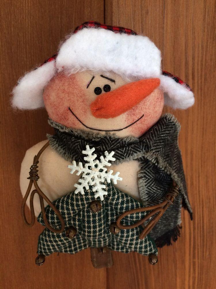 Primitive Raggedy Ann Christmas Tree Snowman Ornie Annie Raggedy