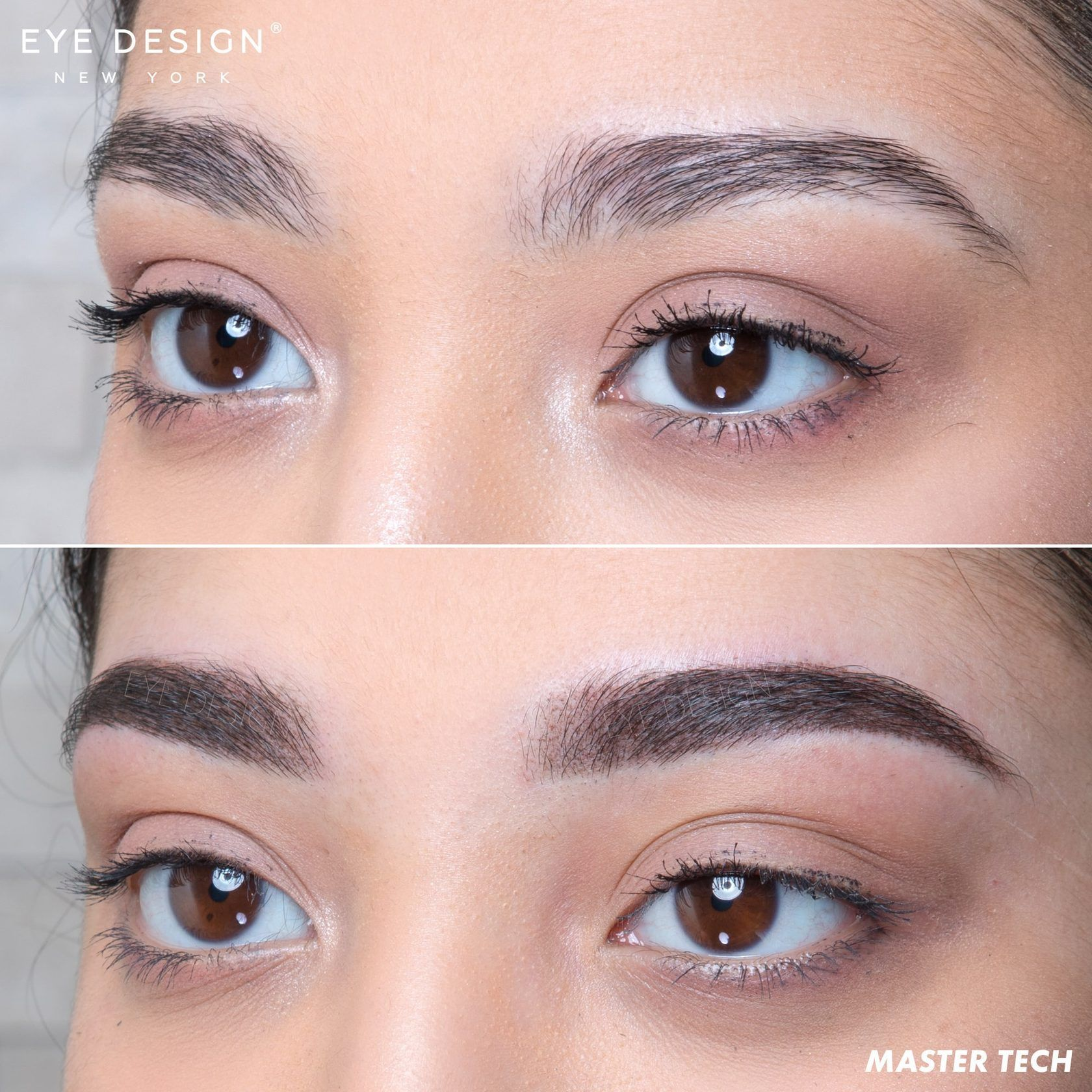 Powder Ombre Permanent Makeup Brow Solution Eye Design