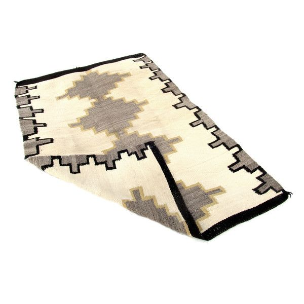 Two Grey Hills Rug with Yellow
