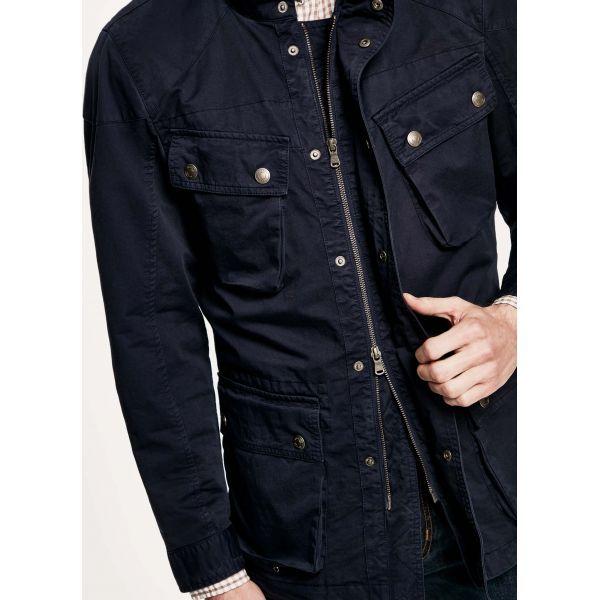 Hackett Veste Velospeed Sélection Coton Dye Navy Garment London adzHRqO