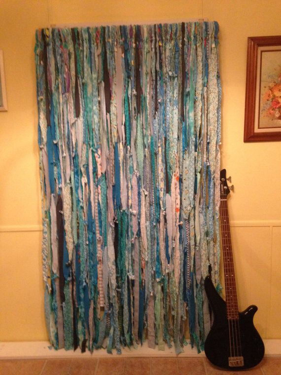 Caribbean Blues Hippie Curtains Gypsy Hippie Hippy