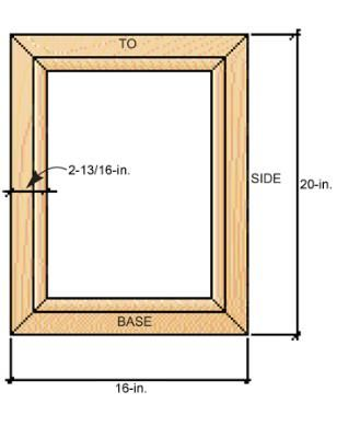 how to make a picture frame | Tutoriales | Pinterest | Carpinteria ...