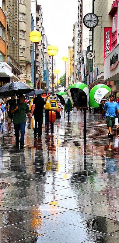 Rainy day , Porto Alegre, Rio Grande do Sul, Brazil | Cidades do ...