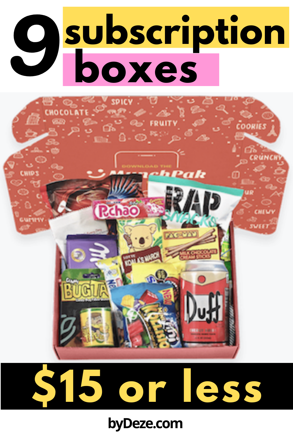 16 Inexpensive Subscription Boxes To Look Forward To On