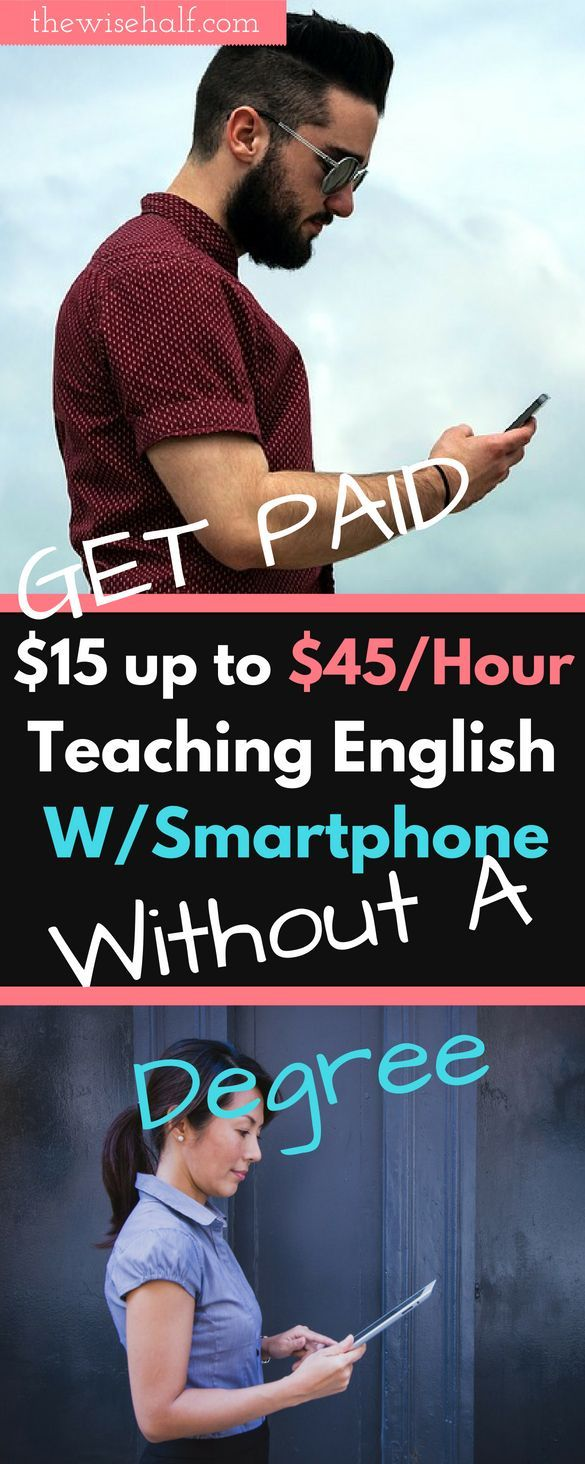Teach english online no degree