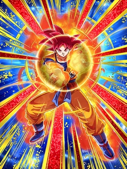God S Effortless Controlling Aura Super Saiyan God Goku Dragon Ball Z Dokkan Battle Wikia Fandom Powered By Wikia Dragon Ball Art Anime Dragon Ball Goku