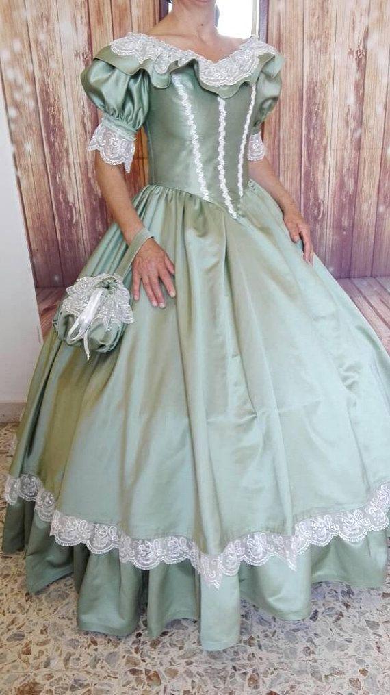 Victorian Dress for Historical dance nel 2019  dde4e420278