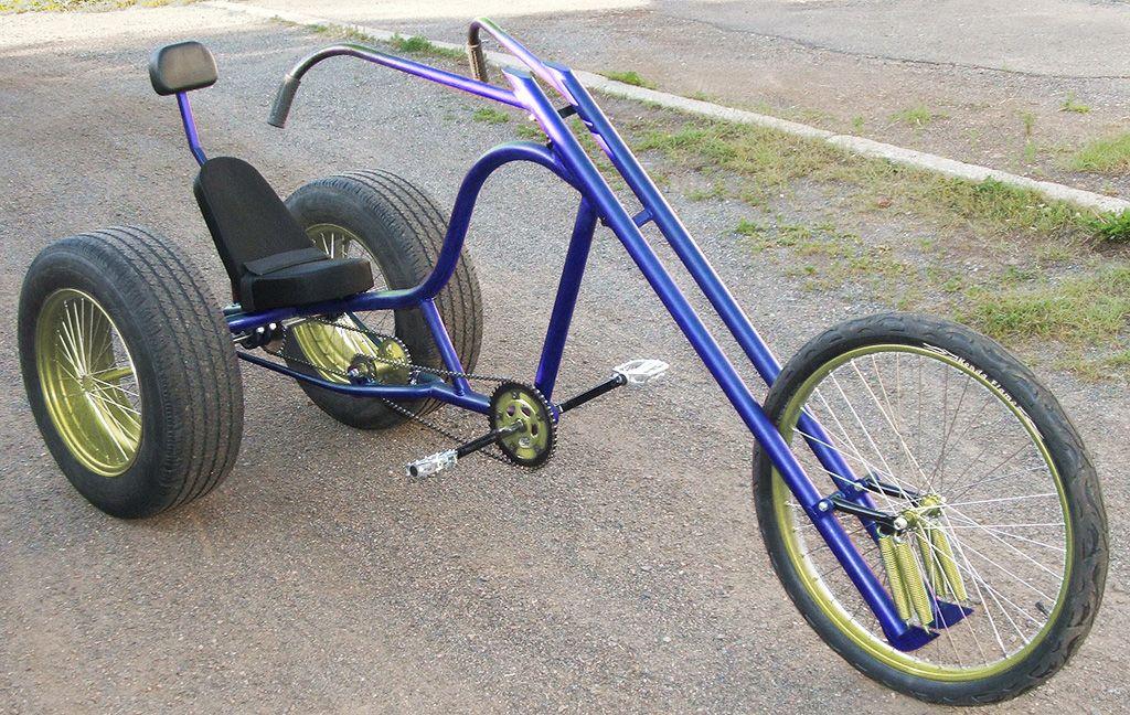 Gladiator Chopper Trike DIY Plan | AtomicZombie DIY Plans