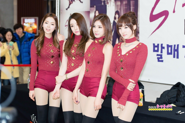 All girl groups korean