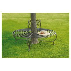 tree seats garden furniture. Contemporary Seats Bronze Tree Seat 6 Seater Metal Garden Bench  Hardwearing And Weather  Resistant On Seats Furniture D