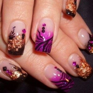 Japanese 3D nailart