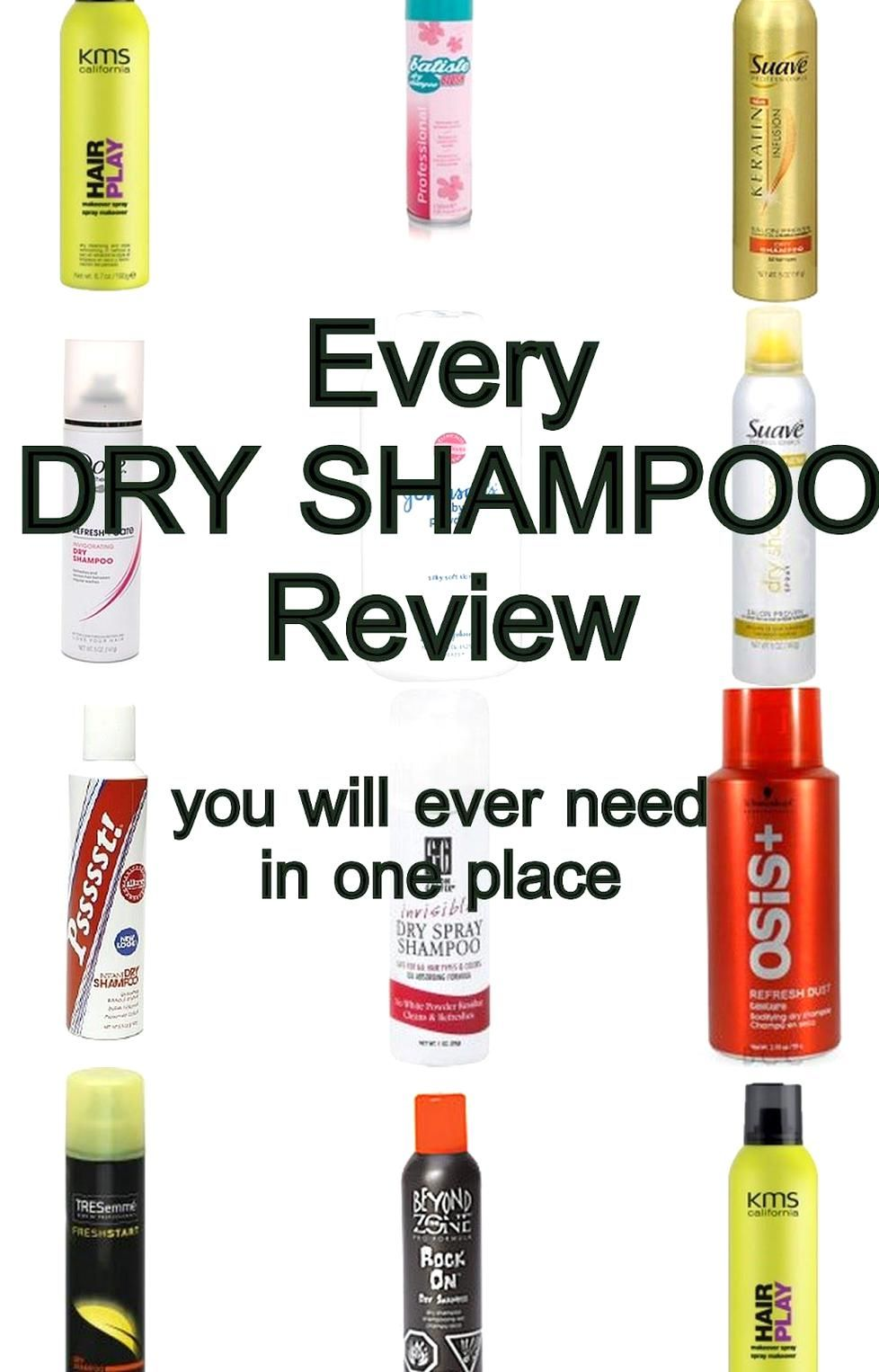 Dry Shampoo The Best Kept Secret In Hair She Reviews 21 Different Types Of Dry Shampoos Dry Shampoo Shampoo Reviews Suave Dry Shampoo