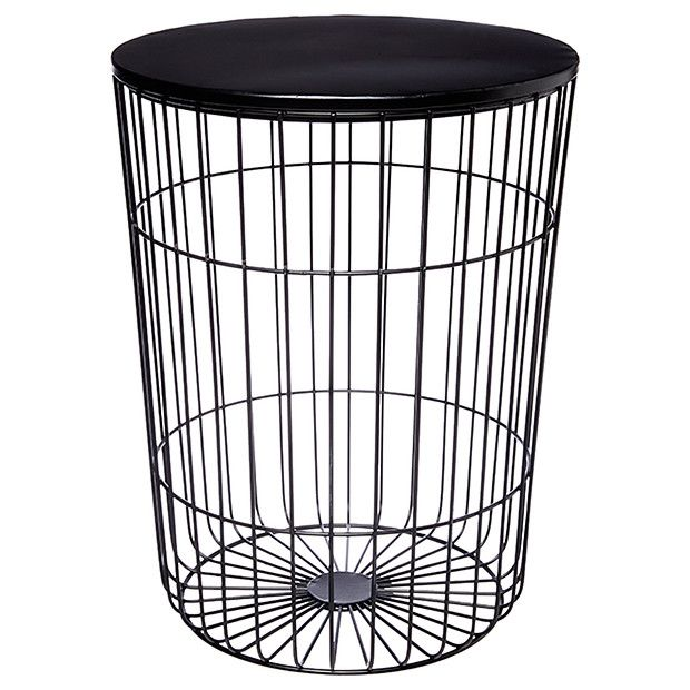 Hudson Wire Frame Side Table | Pinterest | Mtv cribs, Bedroom ...