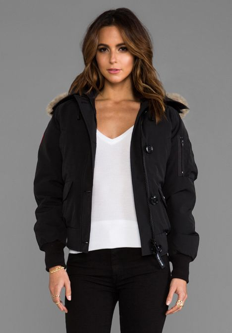 CANADA GOOSE Chilliwack Bomber in Black
