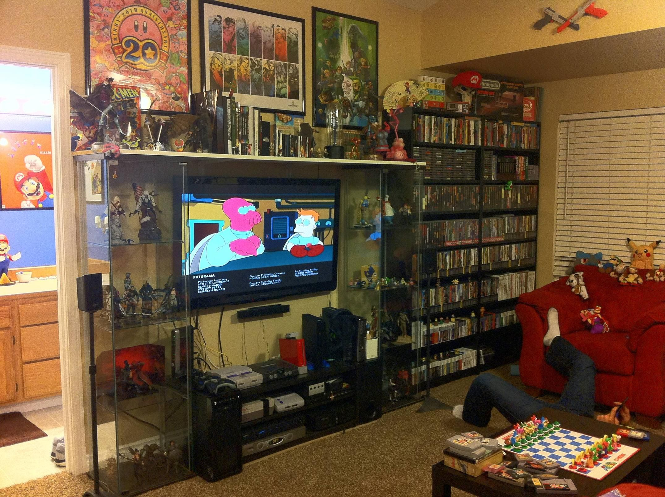 Pin By R B On Game Room Ideas Video Game Rooms Gamer Room Home