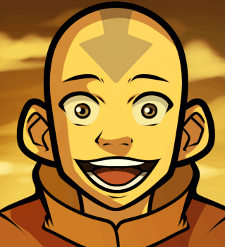 how to draw aang easy