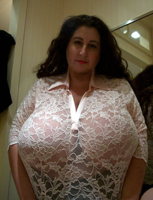 Large busted mature women