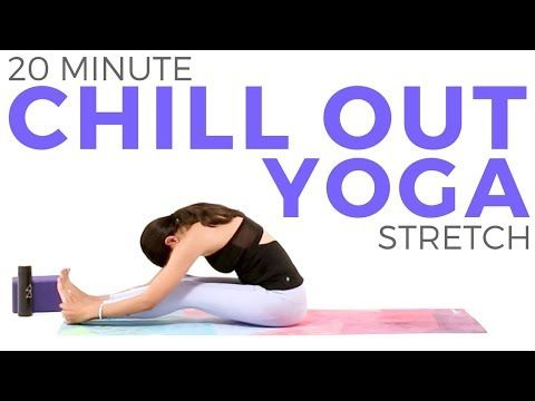 20 minute yoga for relaxation  flexibility 💙 chill out