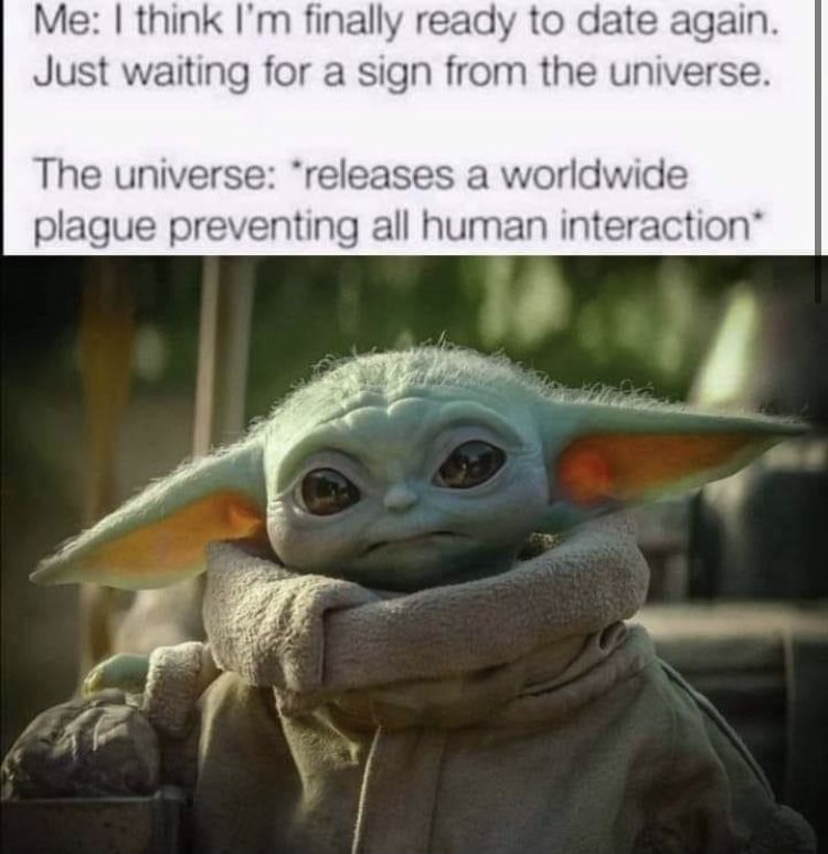 Baby Yoda Date Again Plague In 2021 Yoda Funny Funny Babies Yoda Meme