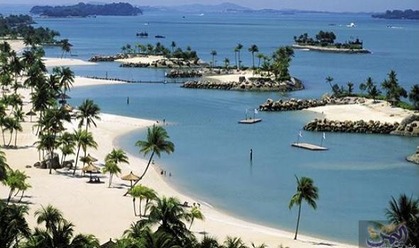 جزيرة سنتوسا في سنغافورة لرواد الاختلاف والتجديد Singapore Travel Sentosa Island Singapore Places To Travel