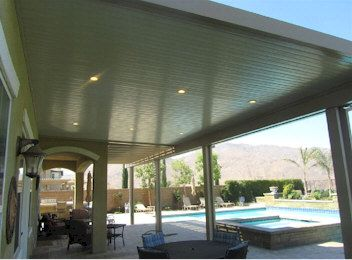 Recessed Lighting For Alumawood Patio Covers Shade